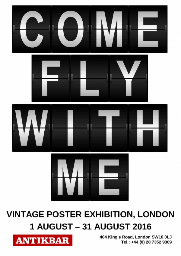 Come Fly With Me Exhibition Catalogue