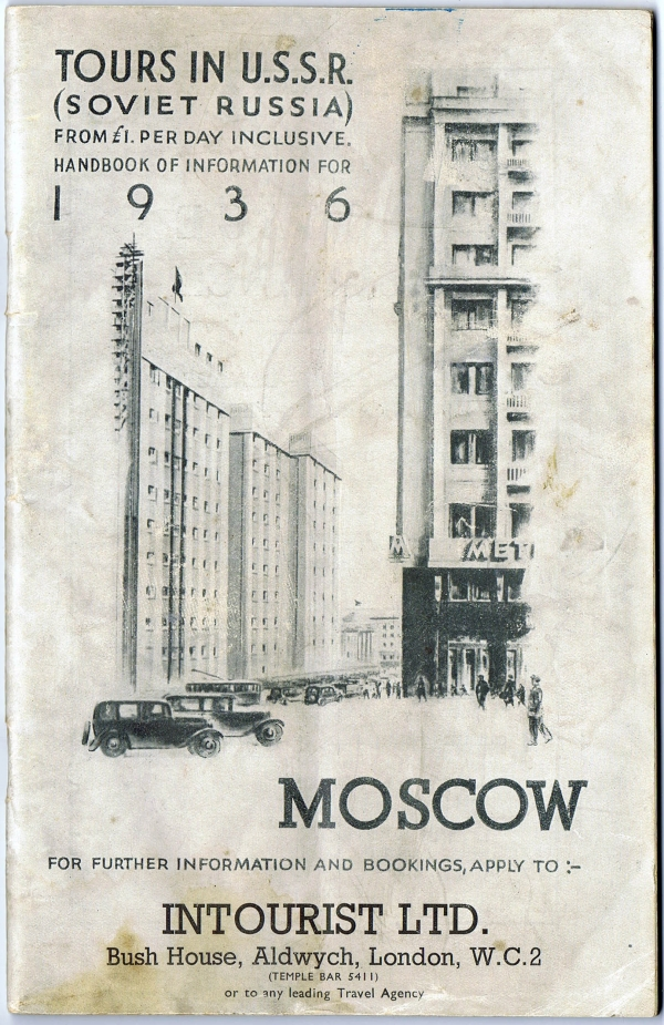 Tours in USSR 1936