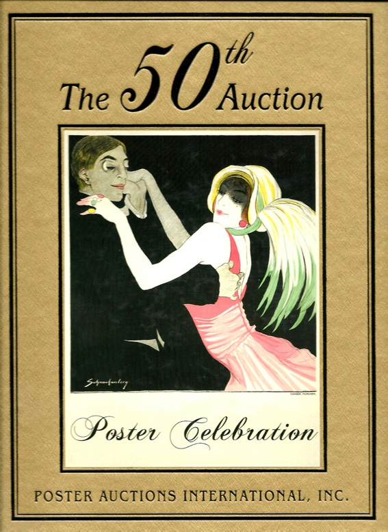 Poster Celebration - catalogue of 50th poster auction
