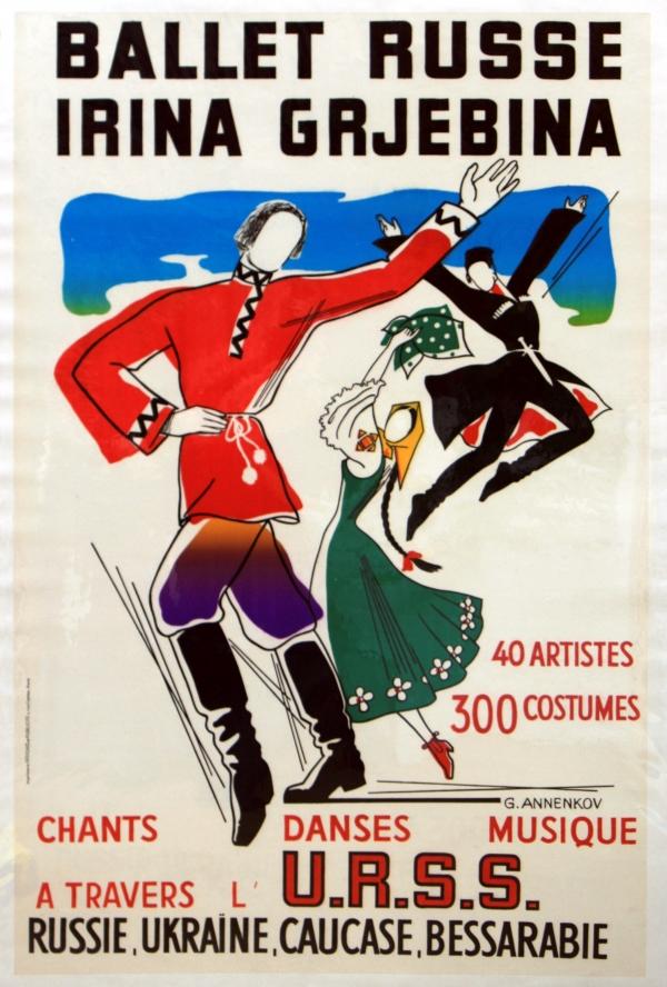 Original Vintage Posters -> Advertising Posters -> Ballet ...