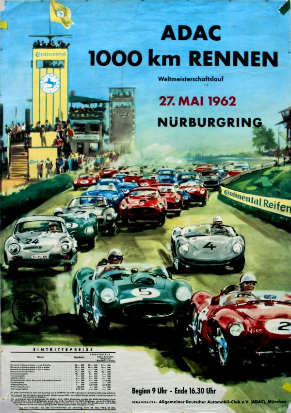 Vintage Auto Posters - Official Site