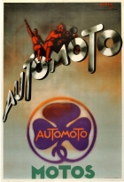 Automoto Motos Art Deco Cassard