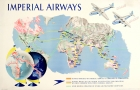 Imperial Airways Route Map