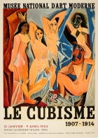Cubism Exhibition Poster Picasso