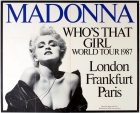 Madonna Who's That Girl World Tour 1987