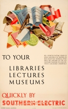London Libraries Museums Southern Electric Helen Ray Marshall