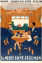 PLM London Pullman Railway Art Deco