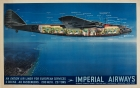 Imperial Airways Ensign Air Liner Cutout