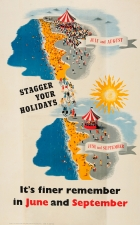 Stagger Your Holidays WWII UK Home Front