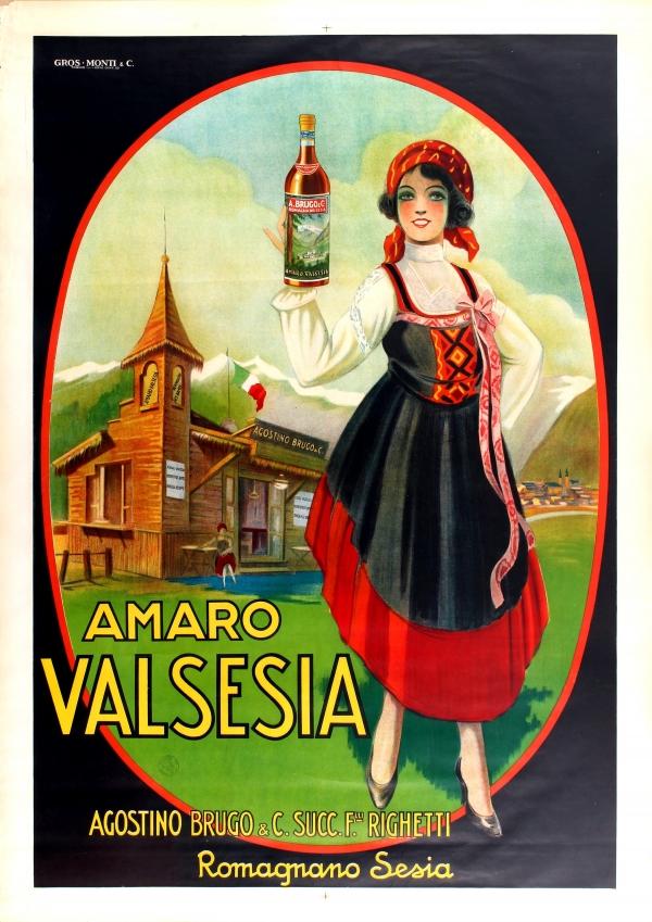 Original Vintage Posters -> Advertising Posters -> Amaro ...