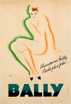 Bally Shoes Pieds Jolis Art Deco