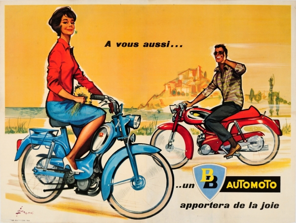 Original Vintage Posters -> Advertising Posters -> Automoto