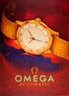 Omega Automatic Gold Swiss Watch
