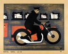 Royal Mail A.D. 1935 Motorcycle GPO Art Deco