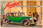 Austin Motor Company Eighteen Art Deco