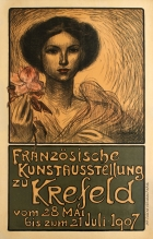 French Art Exhibition Krefeld Art Nouveau Steinlen