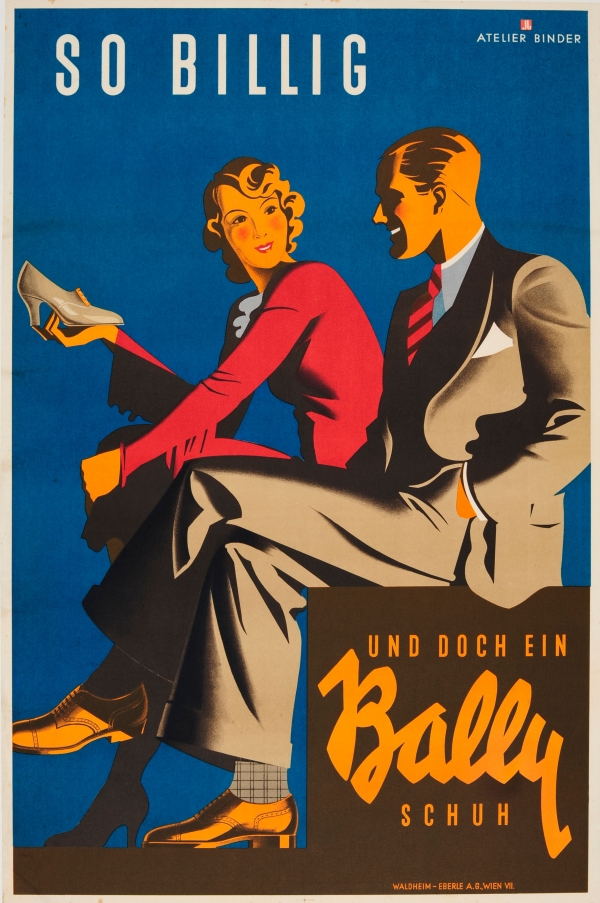 Original Vintage Posters -> Advertising Posters -> Bally