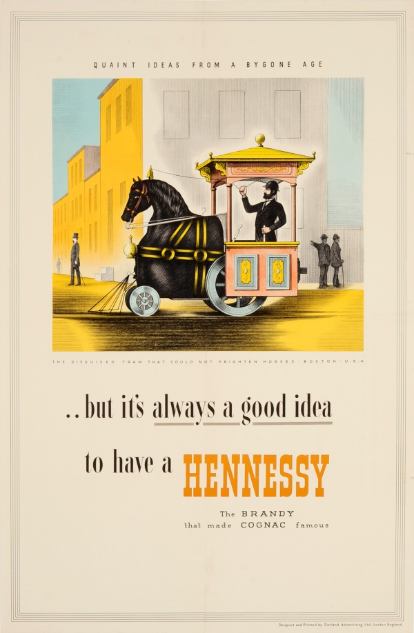 original vintage posters advertising posters hennessy cognac