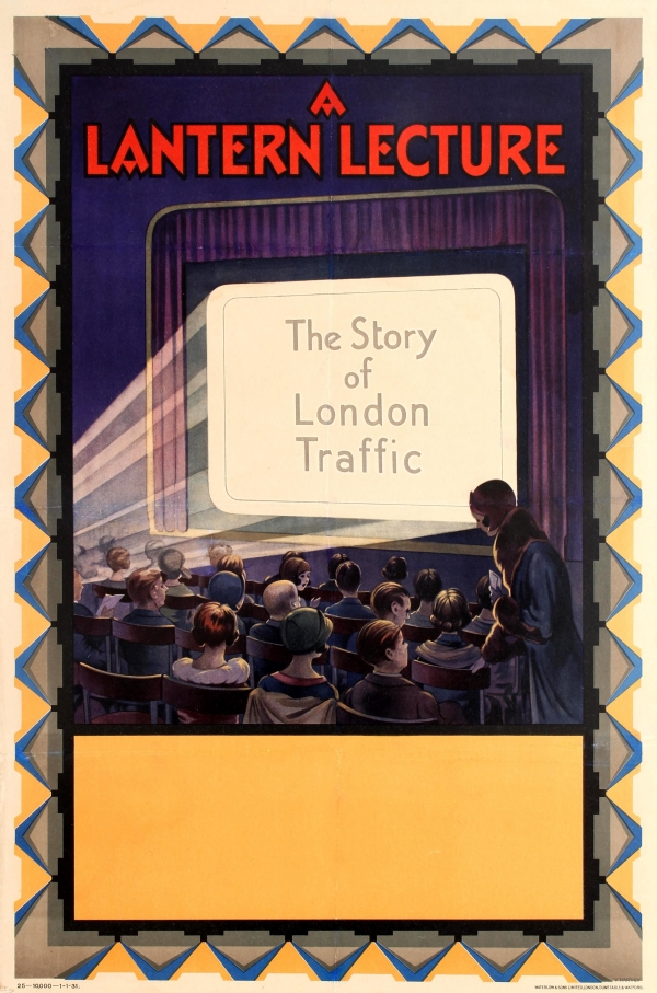 A Lantern Lecture The Story of London Traffic