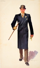 Schloss Bros & Co Fashion Man With Cane