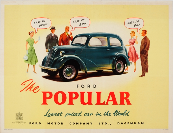 Original Vintage Posters -> Advertising Posters -> Ford ...