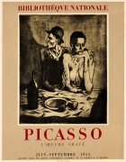 Picasso Exhibition The Frugal Meal Bibliotheque Nationale France