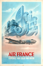 Air France Ship Your Parcels By Plane