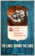 Eggs Dairy Produce WWII British Railways