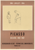 Picasso Drawings Exhibition 1954