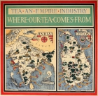 Tea Empire Industry Illustrated Map MacDonald Gill