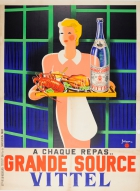 Grande Source Vittel Mineral Water