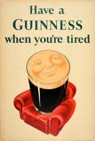 Guinness Have A Guinness When You're Tired Armchair