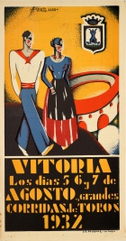 Vitoria Bullfights Art Deco