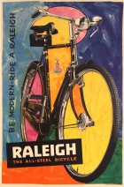 Raleigh All-Steel Bicycle Be Modern