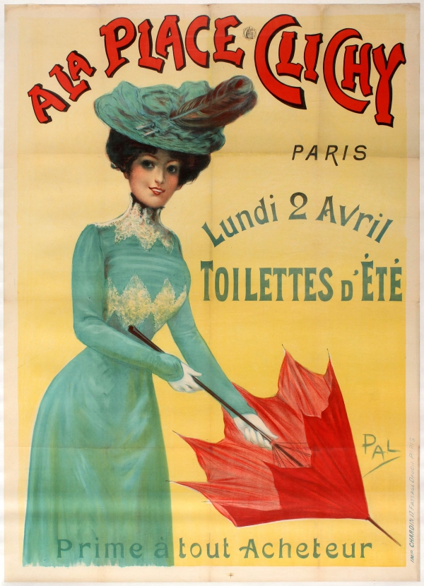A La Place Clichy Paris Summer Fashion Belle Epoque