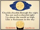 Guinness Is Good For You Chuckle Through The Night Moon