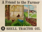 Shell Tractor Oil Wrens Angela Barlow