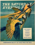 Saturday Evening Post Parrots