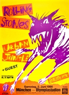 Rolling Stones Urban Jungle Steel Wheels Tour