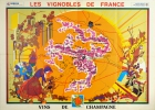 Vineyards Of Champagne France Wine Map
