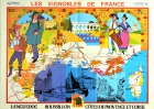 Vineyards Of Languedoc Roussillon Provence Corsica France Wine Map
