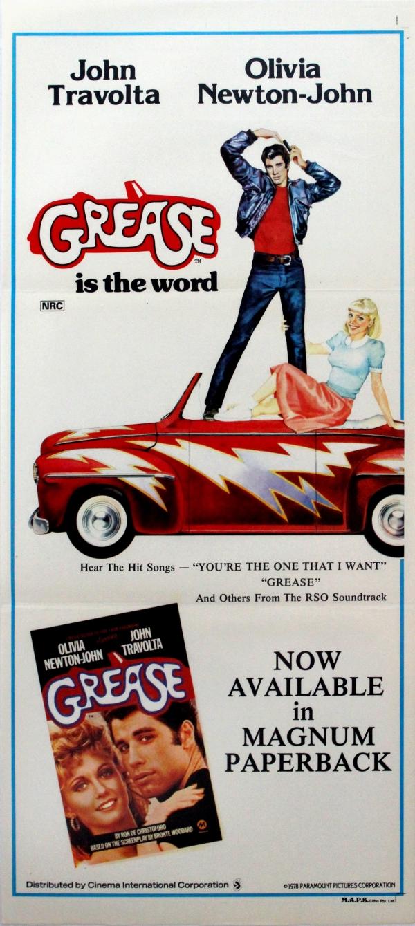 original vintage posters gt cinema posters gt grease