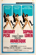 Arabesque Gregory Peck Sophia Loren USA