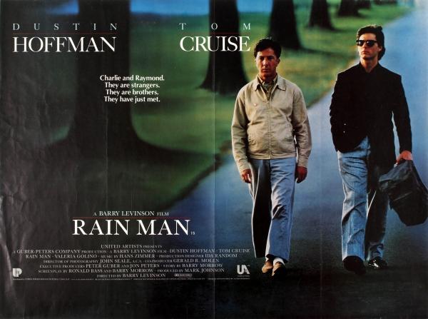 Original Vintage Posters -> Cinema Posters -> Rain Man Dustin ...