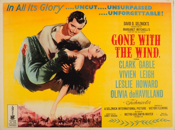 Original Vintage Posters Cinema Posters Gone With