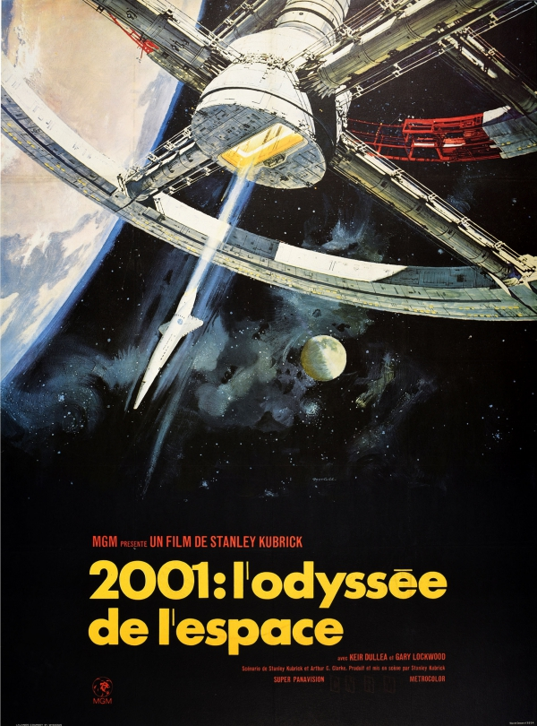 2001: A Space Odyssey Stanley Kubrick (French)