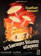 Earth vs The Flying Saucers Les Soucoupes Volantes Attaquent
