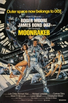 James Bond 007 Moonraker UK Three Sheet
