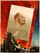 Pravda Newspaper Lenin