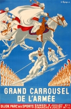Army Carousel France Ski Horse Riding